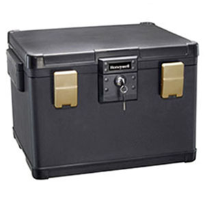 Waterproof 1 Hour Fire Safe Chest for Digital Media, Letter, A4, & Legal Sized Hanging File Folders