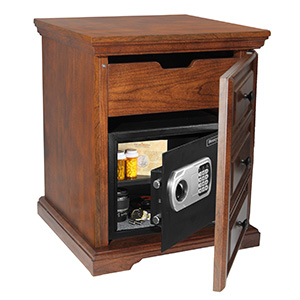 Charmant Digital Steel Security Safe In Decorative Cabinet